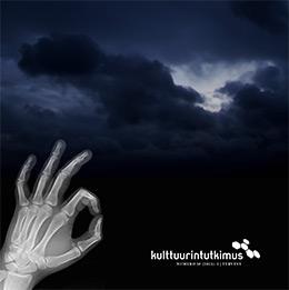 Lehden kansi, jossa röntgenkuva ja tumma taivas